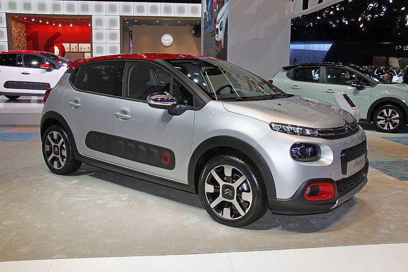 Citroën C3 Scheda Tecnica
