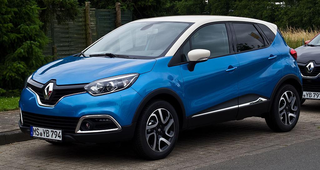 Scheda tecnica Renault Captur