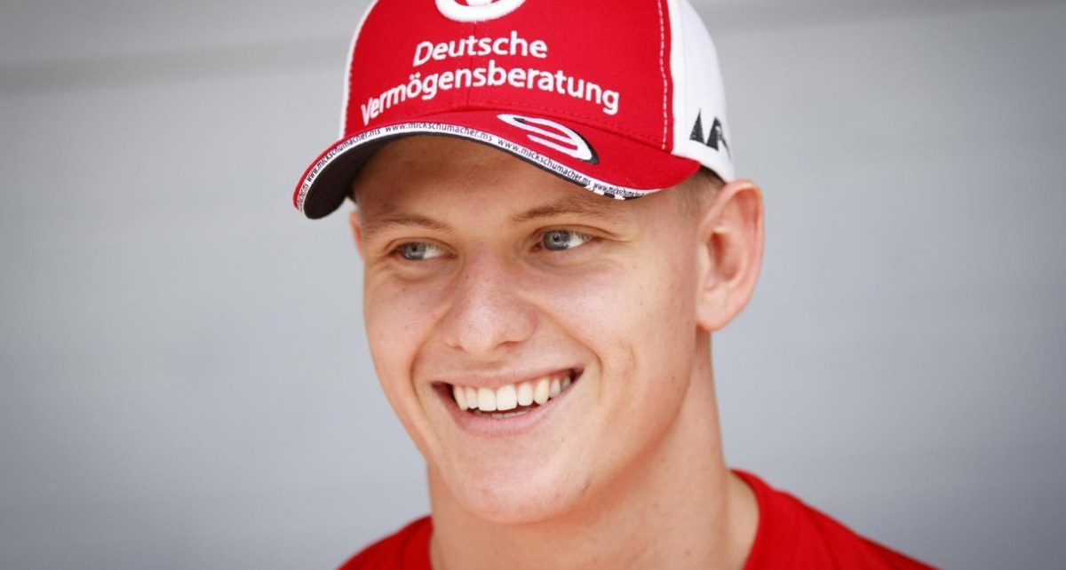 Mick Schumacher sulla Ferrari