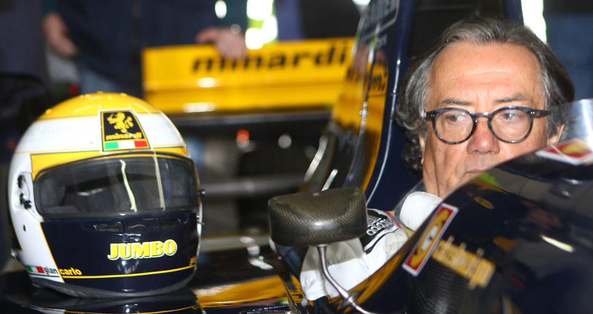 Minardi sulla Ferrari
