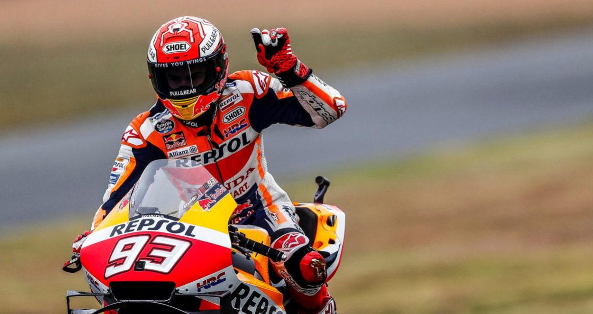 Test di Marquez a Brno