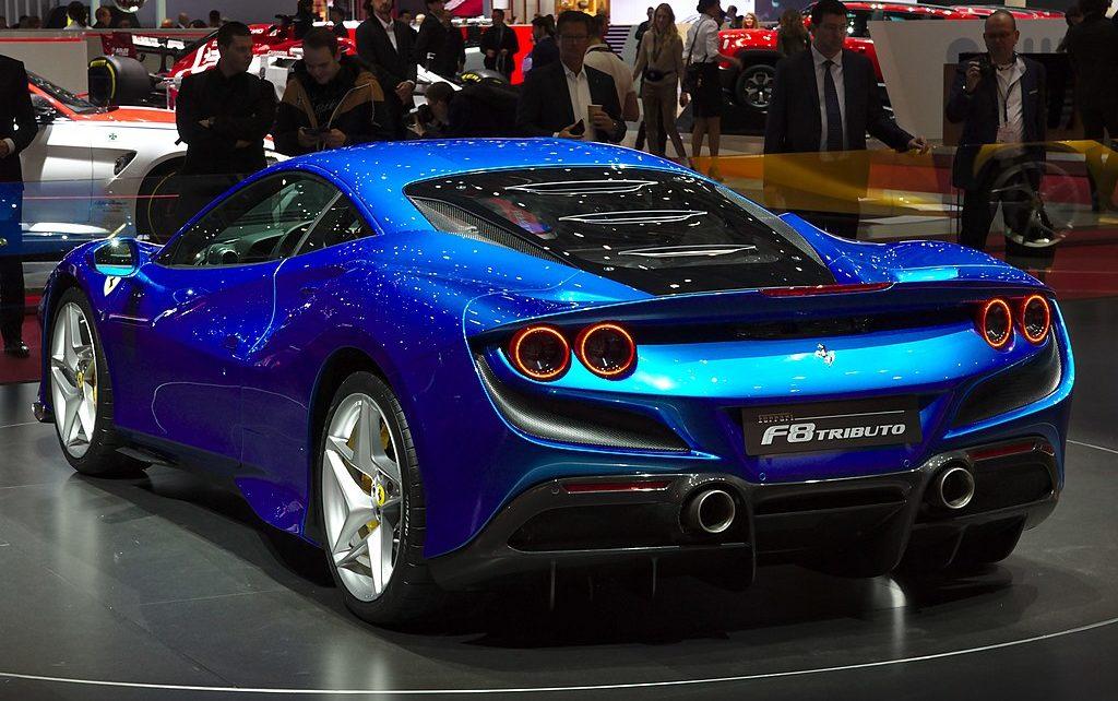 Scheda tecnica Ferrari F8 Tributo