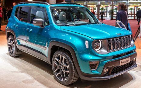 Scheda tecnica Jeep Renegade