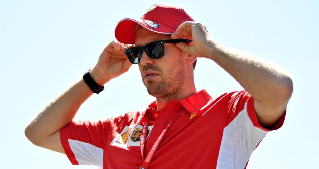 Vettel a Silverstone