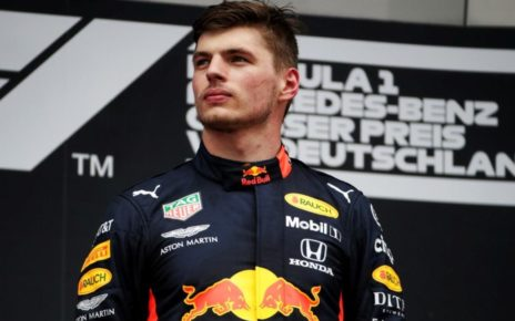 Verstappen all'Hungaroring