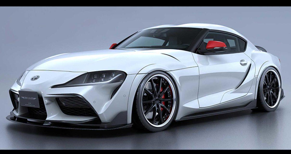 Toyota Supra Black Label