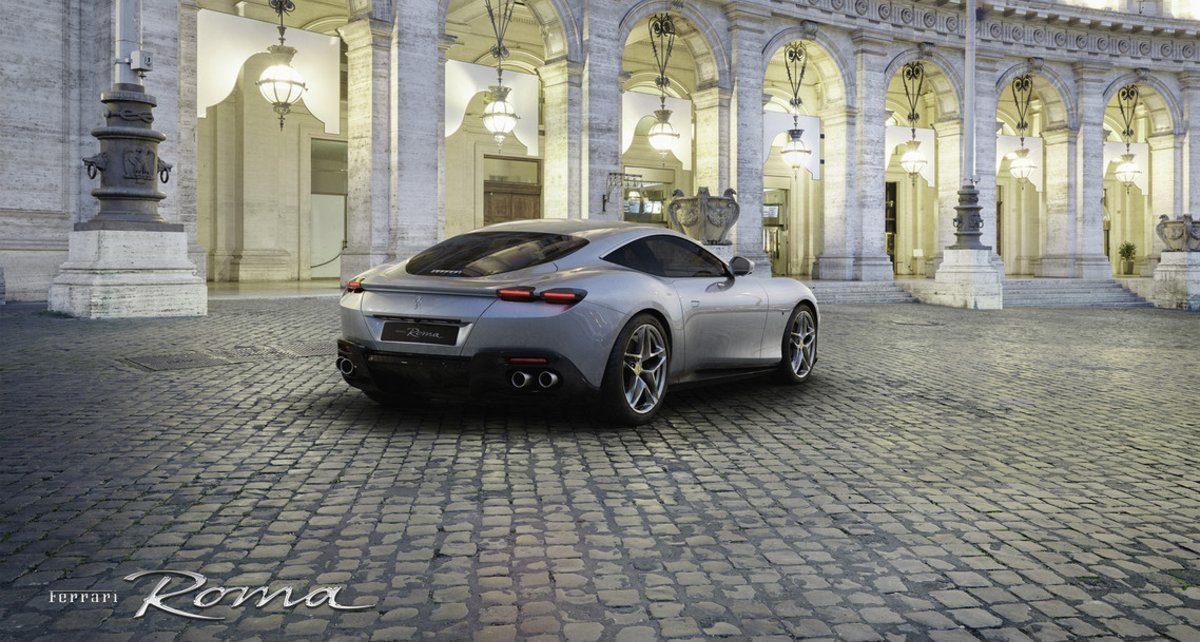 Scheda tecnica Ferrari Roma