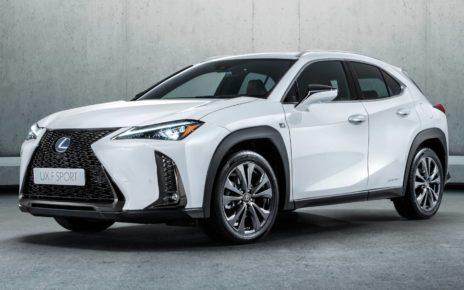 Scheda tecnica Lexus UX Hybrid
