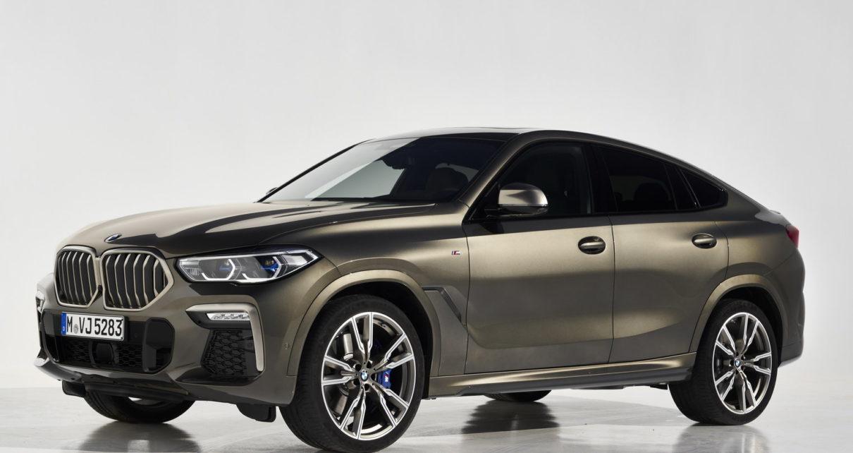 Scheda tecnica BMW X6