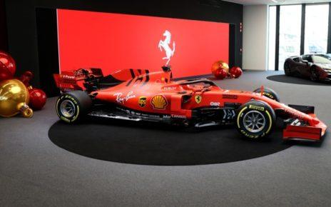 Test Ferrari Fiorano 2020