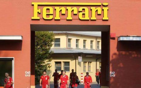Ferrari emergenza Coronavirus