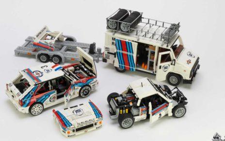 Lancia Delta 037 Lego