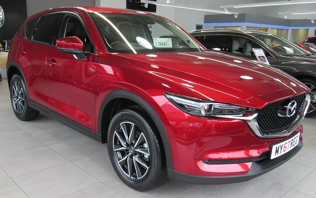 Scheda tecnica Mazda CX-5