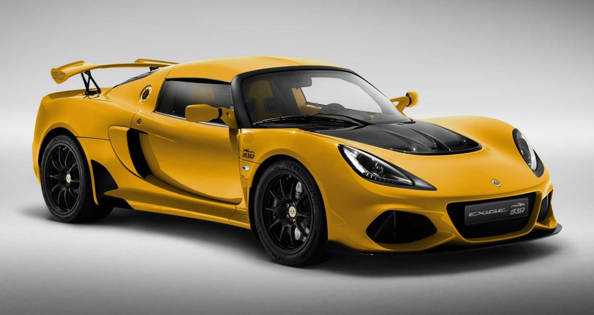Lotus Exige 20th Anniversary Edition