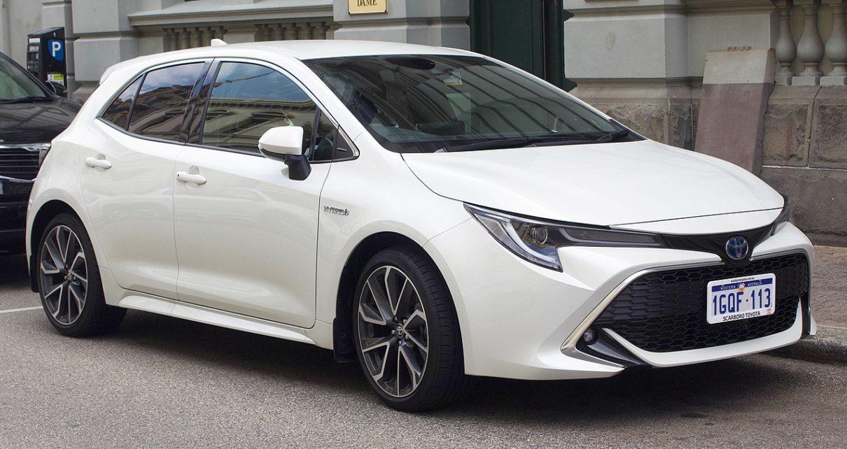 Scheda tecnica Toyota Corolla