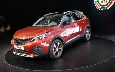 Scheda tecnica Peugeot 3008