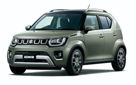 Scheda tecnica Suzuki Ignis