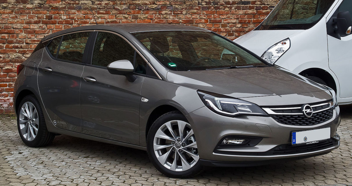 Scheda tecnica Opel Astra