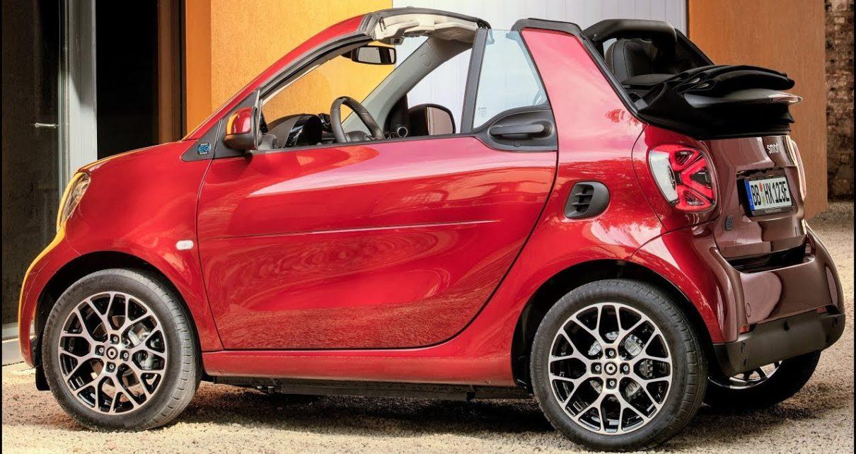 Scheda tecnica Smart fortwo cabrio