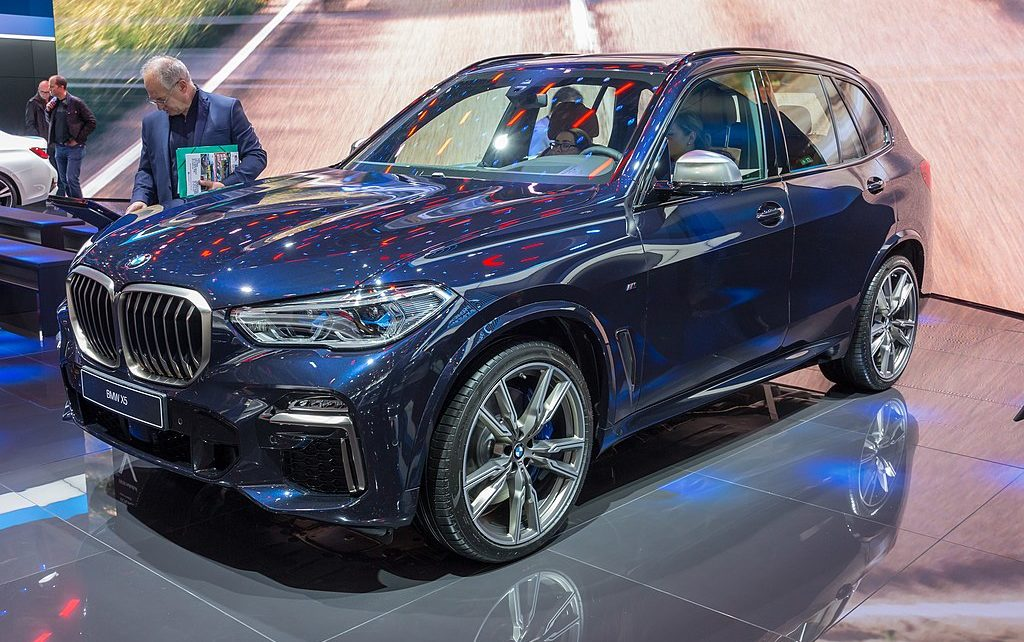 Scheda tecnica BMW X5