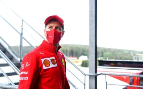 Sebastian Vettel Aston Martin 2021