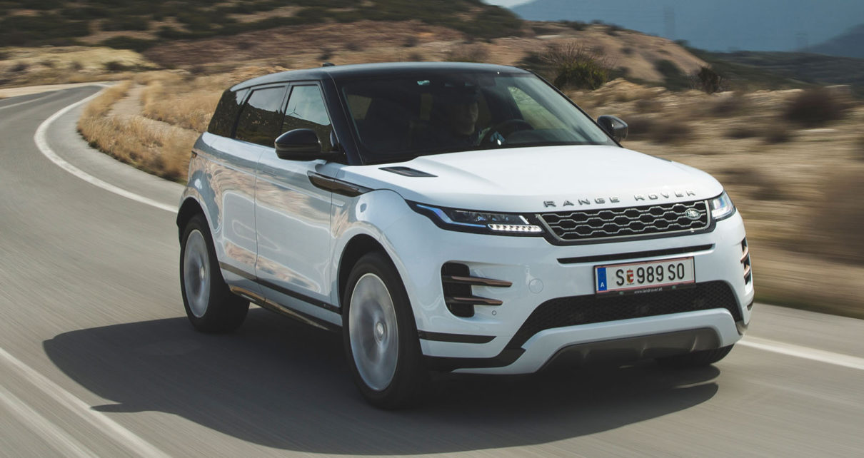 Scheda tecnica Land Rover Range Rover Evoque