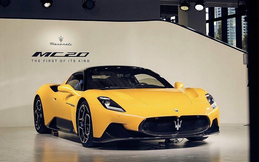 Scheda tecnica Maserati MC20