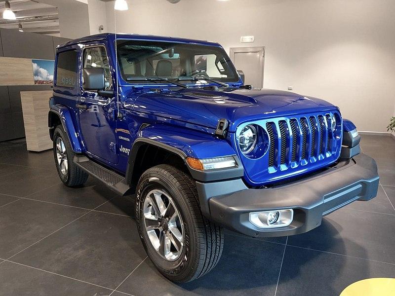 Scheda tecnica Jeep Wrangler