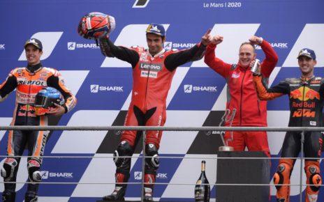 Risultati MotoGP Francia 2020