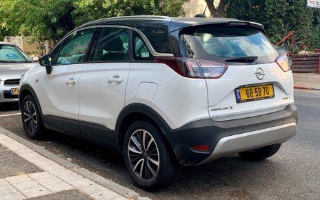 Scheda tecnica Opel Crossland X