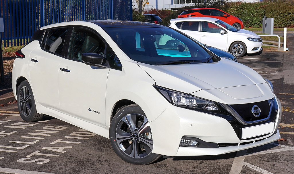 Scheda tecnica Nissan Leaf
