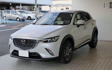Scheda tecnica Mazda CX-3