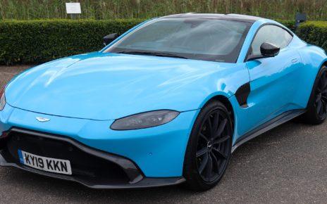 Scheda tecnica Aston Martin Vantage