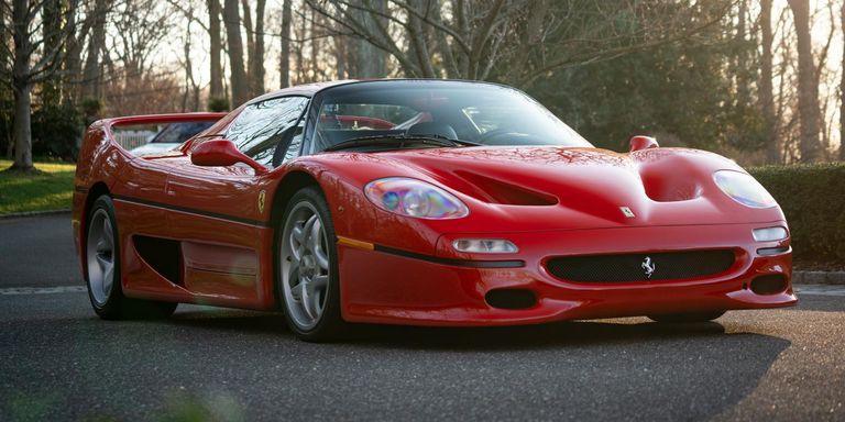 Ferrari F50 rubata
