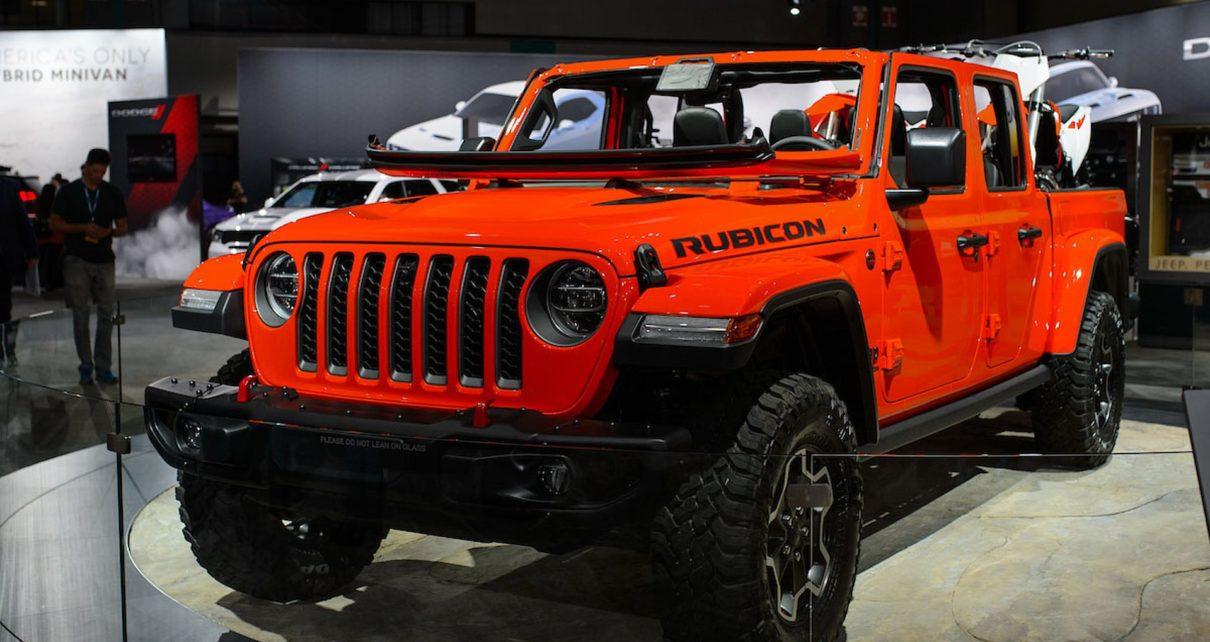 Scheda tecnica Jeep Gladiator