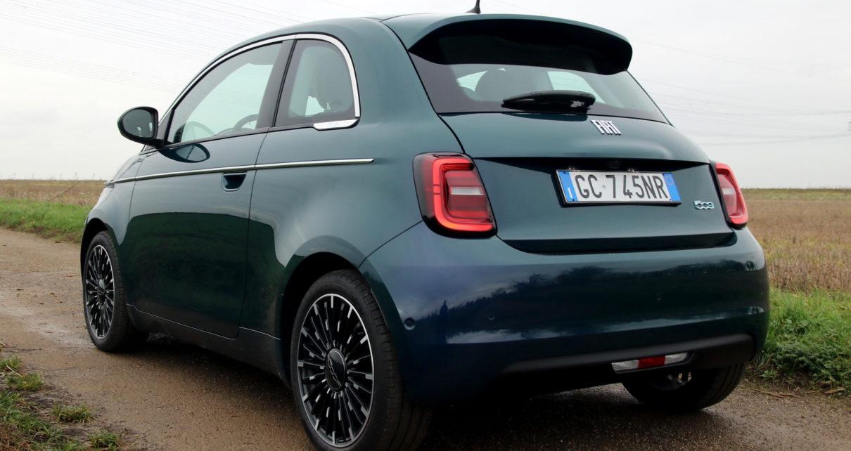 Scheda tecnica Fiat Nuova 500e