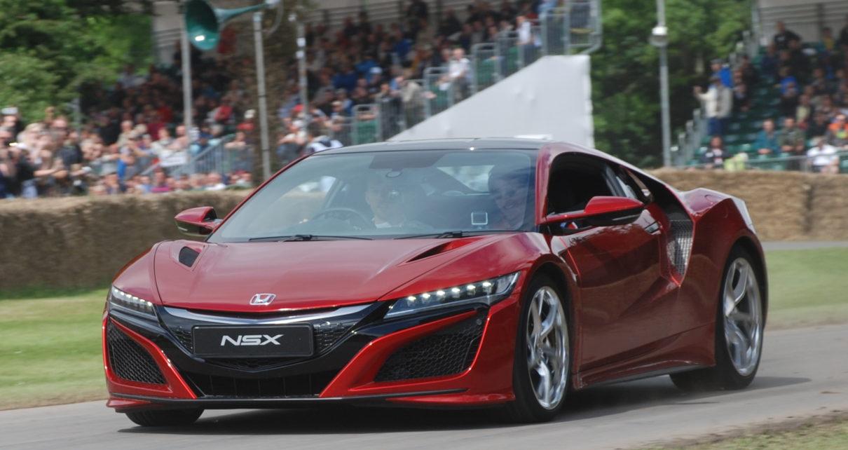 Scheda tecnica Honda NSX