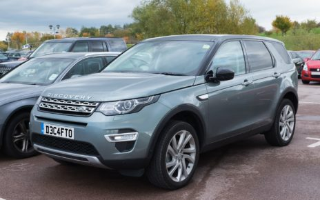 Scheda tecnica Land Rover Discovery Sport
