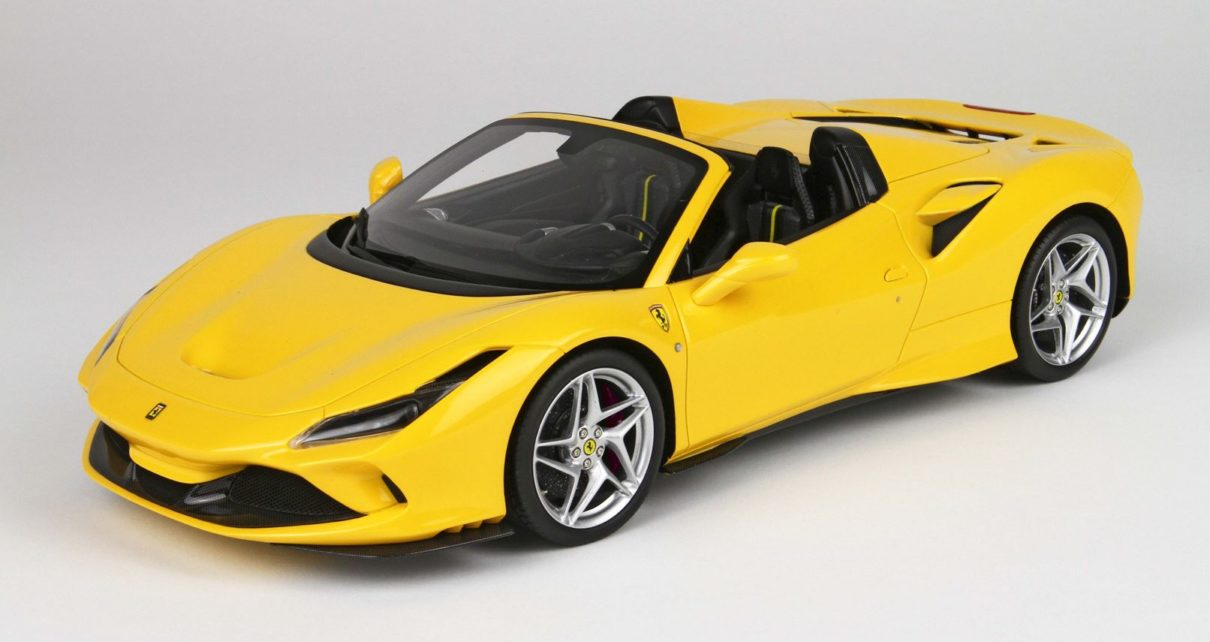 Scheda tecnica Ferrari F8 Spider