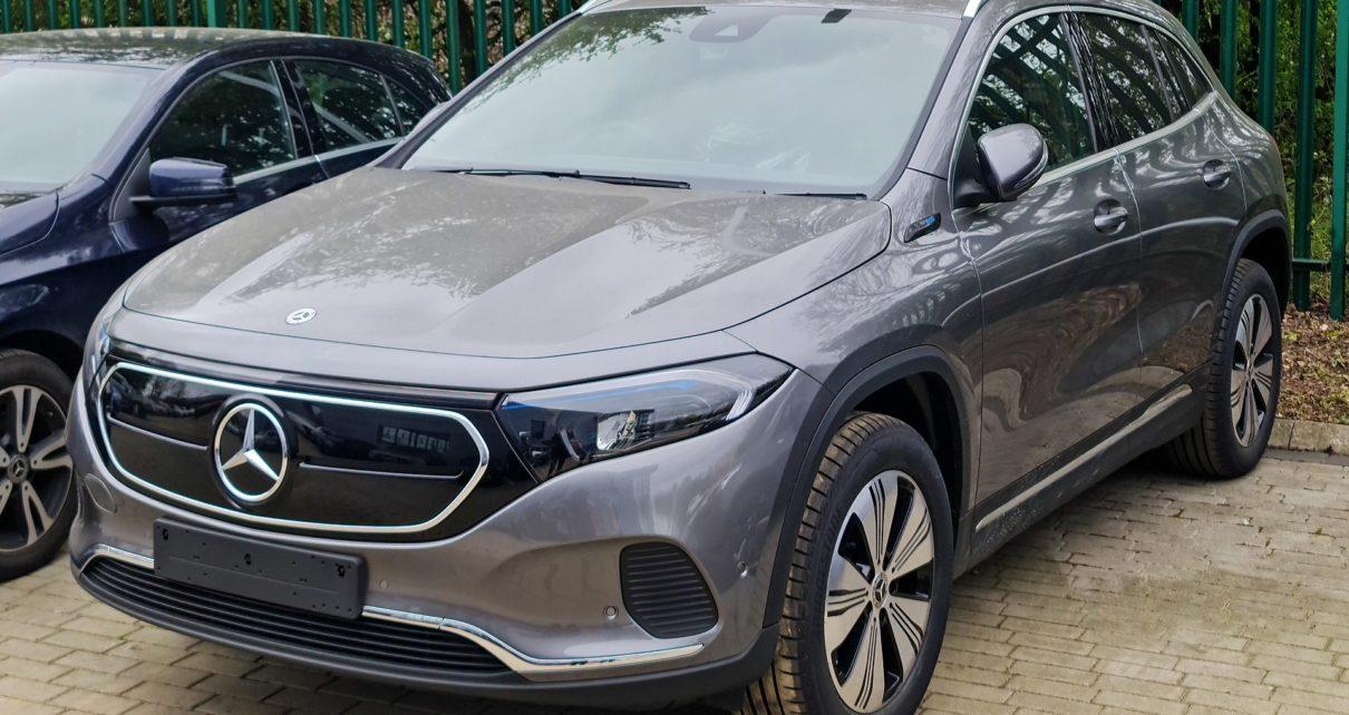 Scheda tecnica Mercedes – Benz EQA