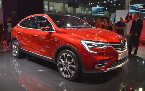 Scheda tecnica Renault Arkana