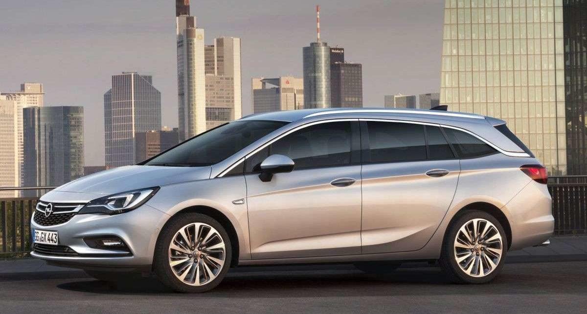 Scheda tecnica Opel Astra Sports Tourer