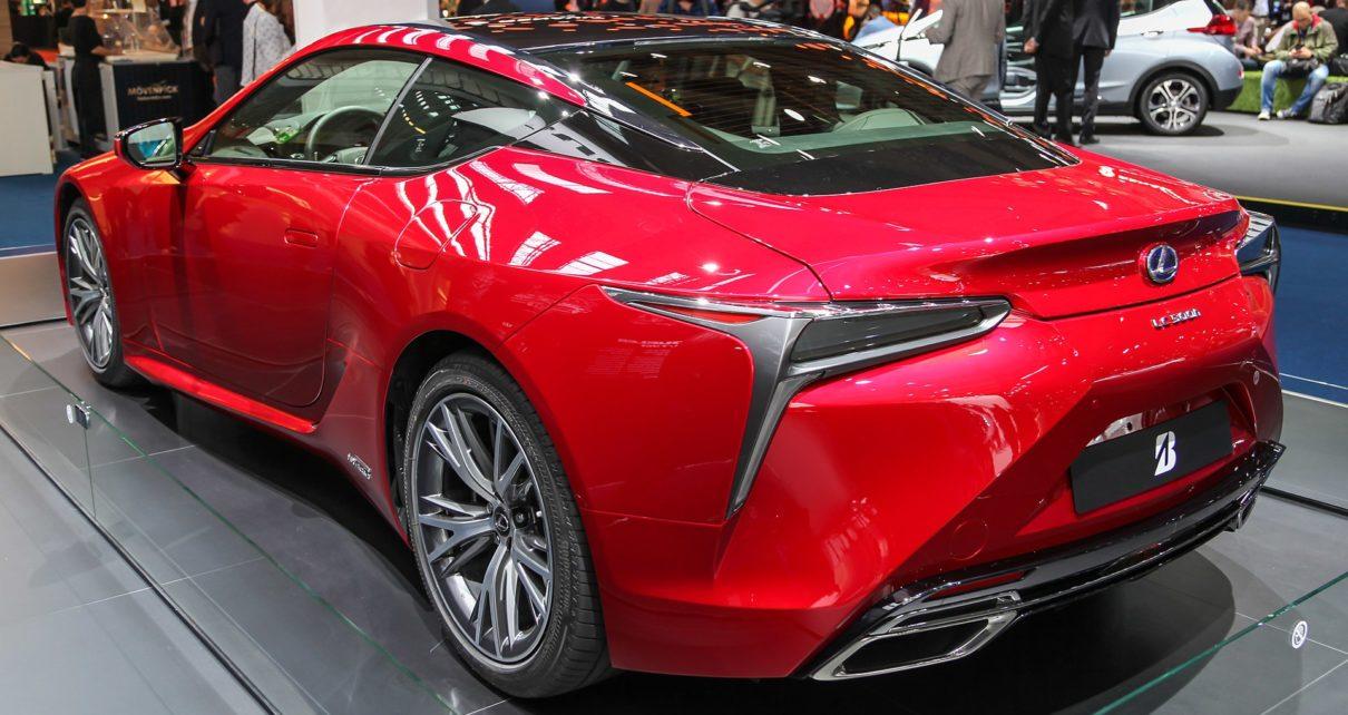 Scheda tecnica Lexus LC
