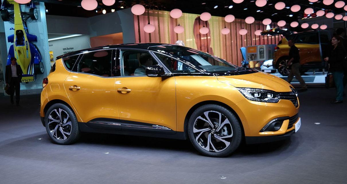 Scheda tecnica Renault Scénic