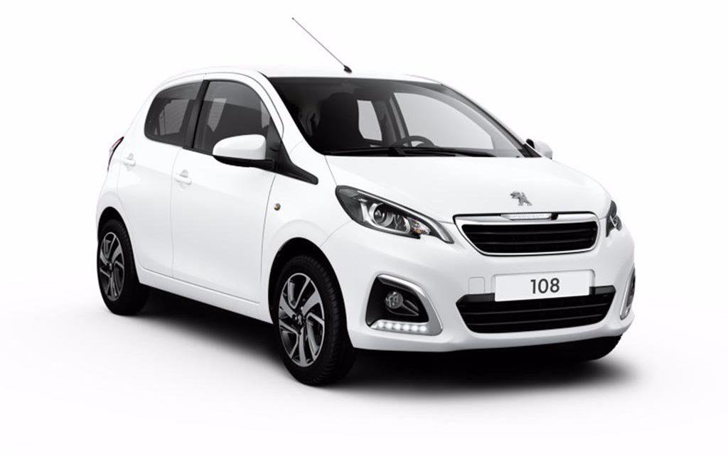 Scheda tecnica Peugeot 108