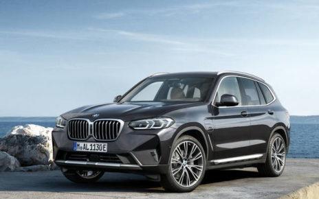 Scheda tecnica BMW X3